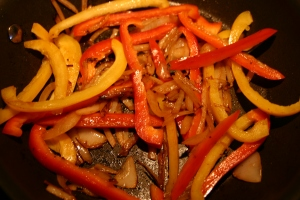 sauteed bell pepper