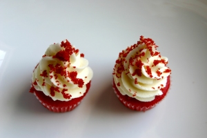 Red Velvet with Cream Cheese Frosting