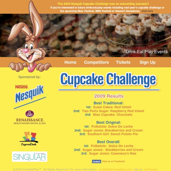 Nesquick Cupcake Challenge