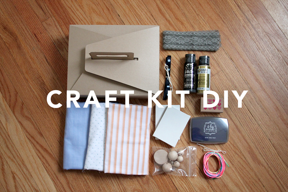Make This Craft Kit Birthday Gift Blog