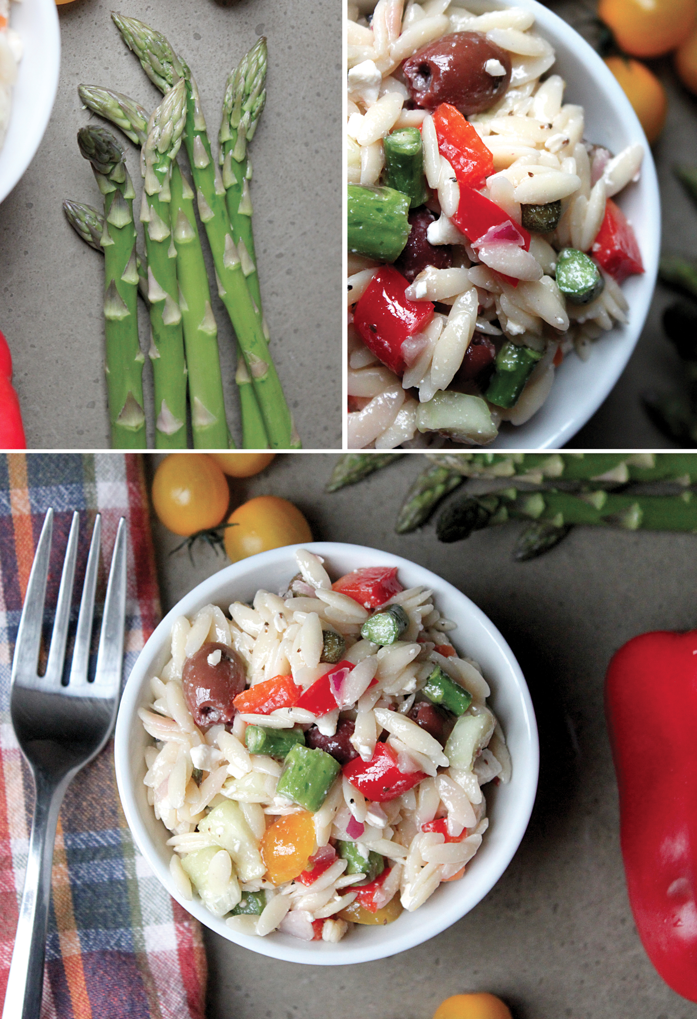 Mediterranean Raw Squash Pasta Salad Recipe — Dishmaps