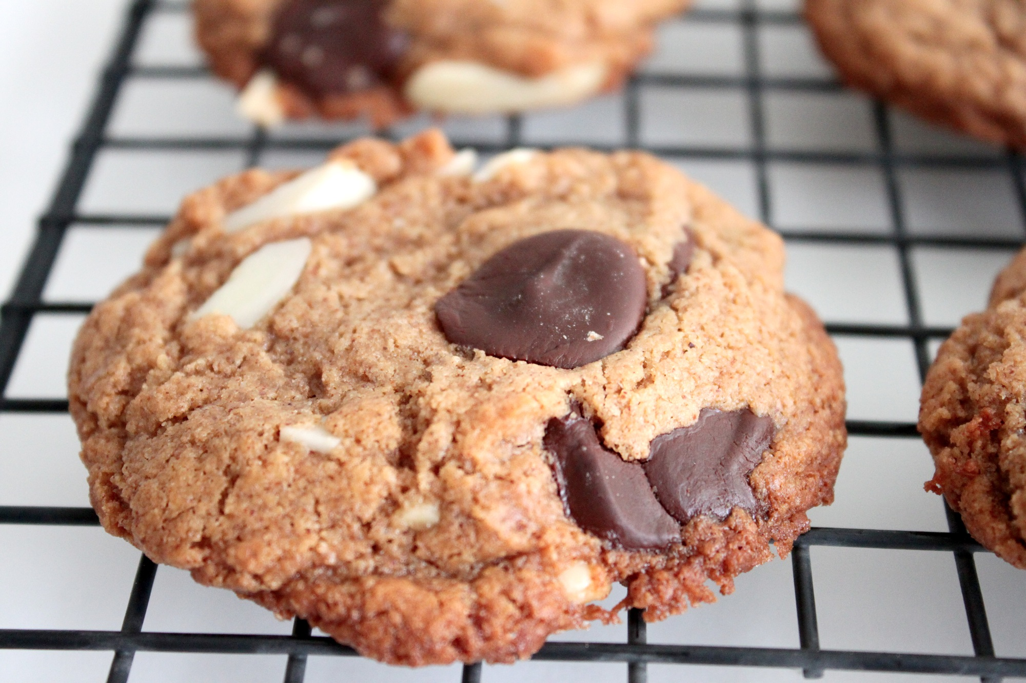 Gluten-Free Almond Butter Cookies (adapted from A Girl Defloured )