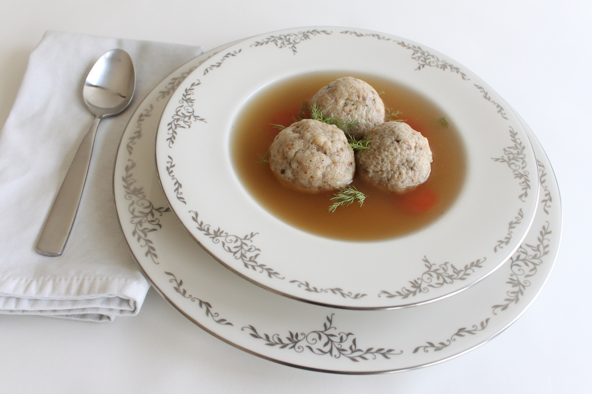 Matzo Ball Soup (I followed this Smitten Kitchen recipe EXACTLY and I ...