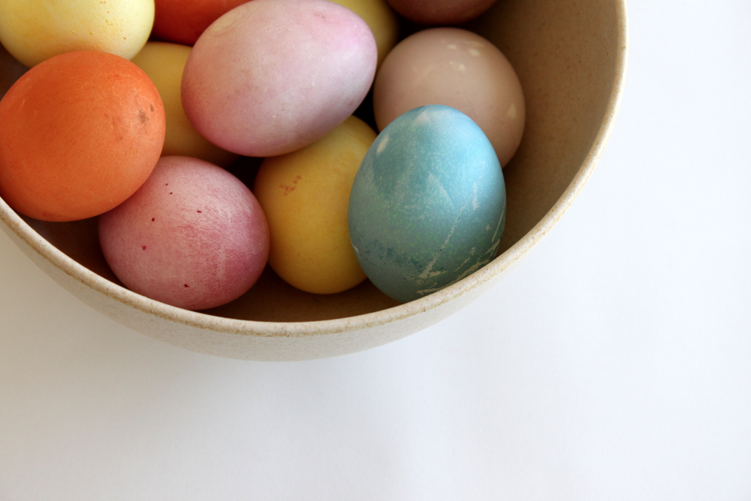 Naturally Dyed Easter Eggs ... Easter, egg dying, pastels. Over ...