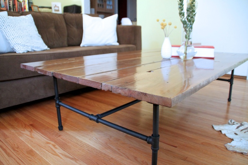 parsons coffee table plans
