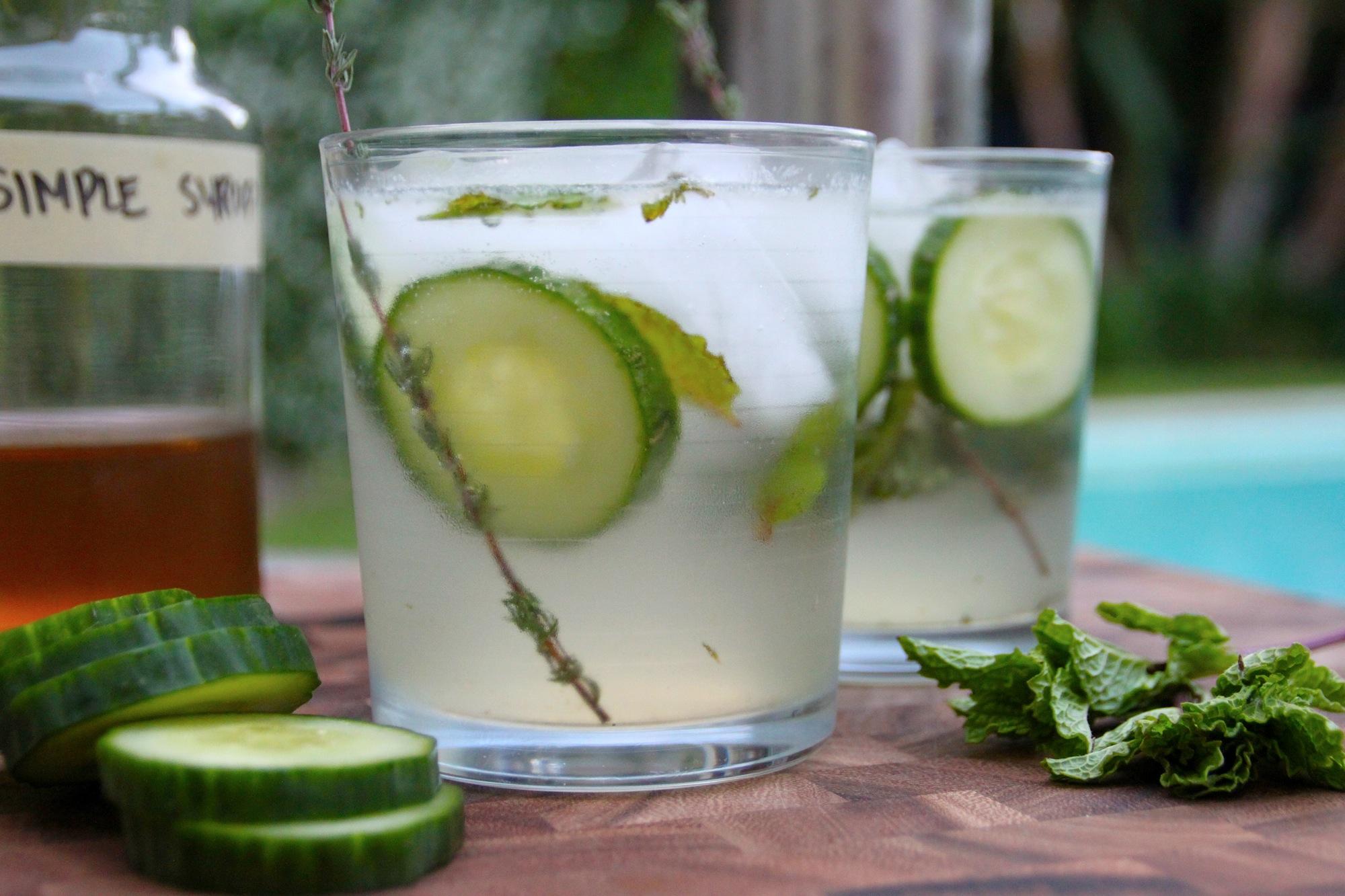 Cucumber Spritzer Recipe — Dishmaps