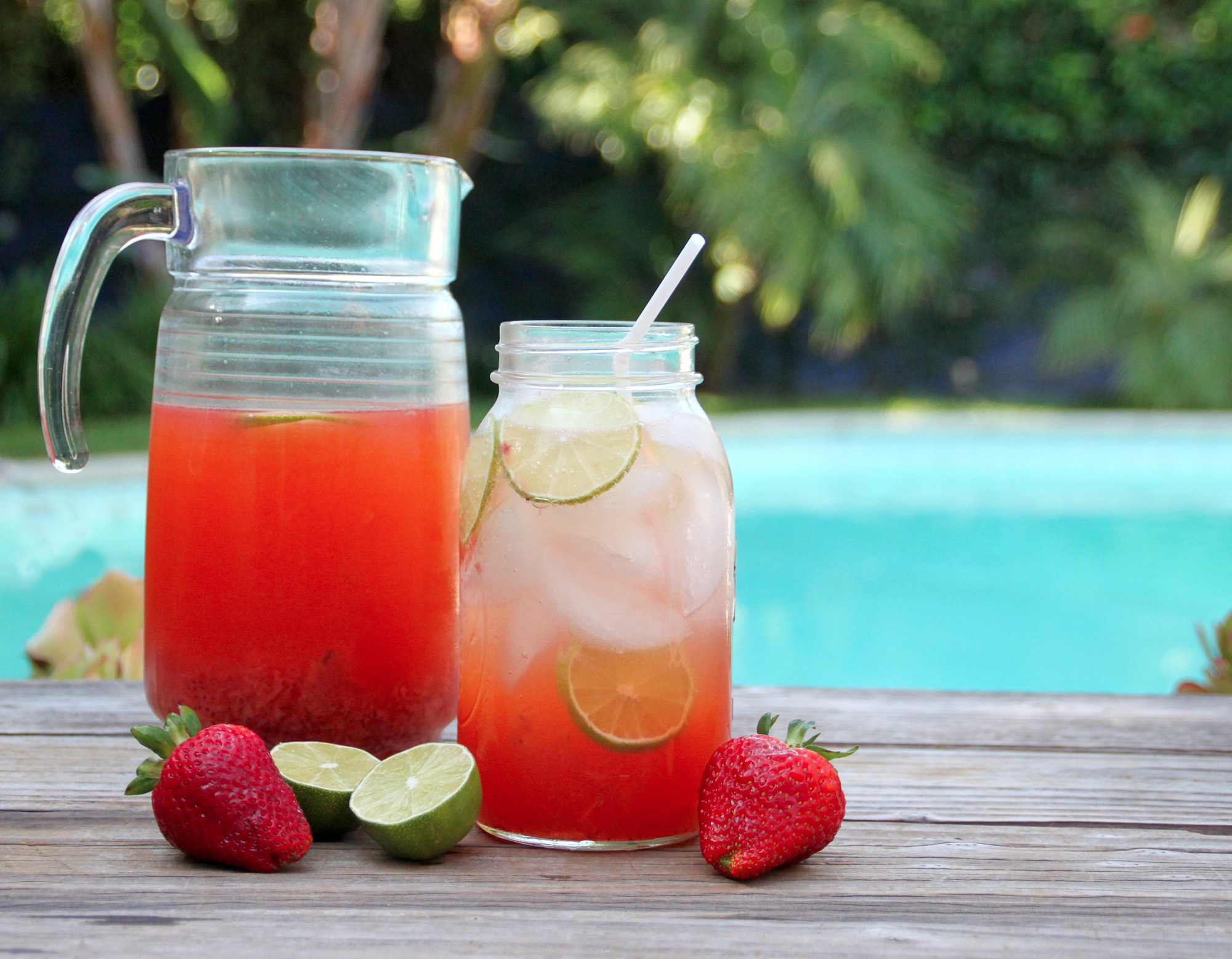 From the Kitchen: Roasted Strawberry Limeade | {love+cupcakes} Blog