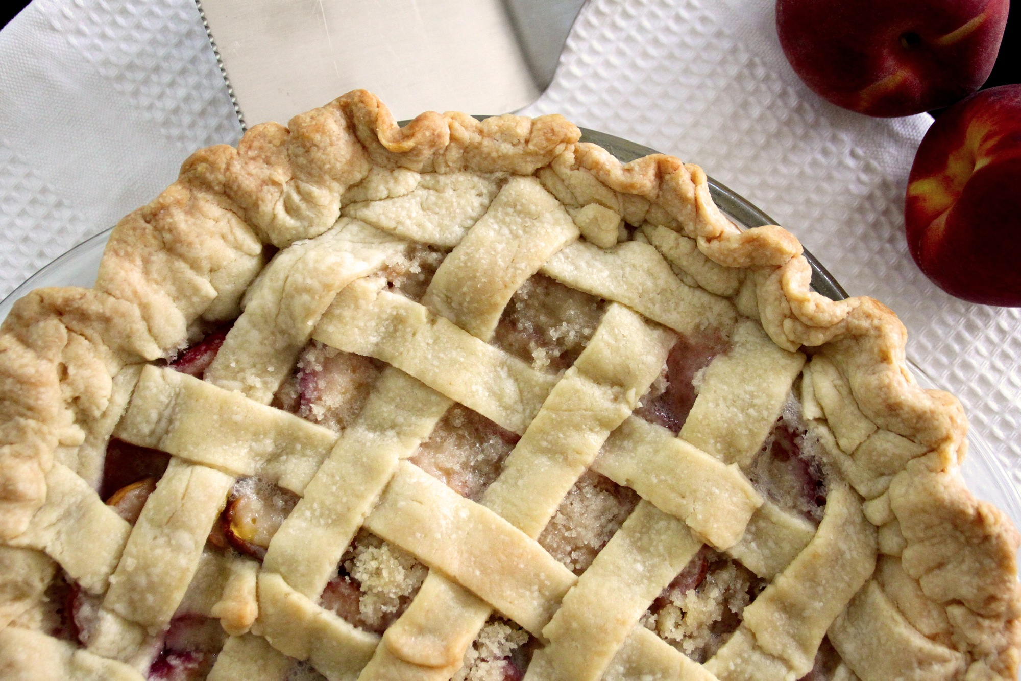 Accidental Cream Pie Good from the kitchen: {accidental} peach pie cobbler | {love+cupcakes