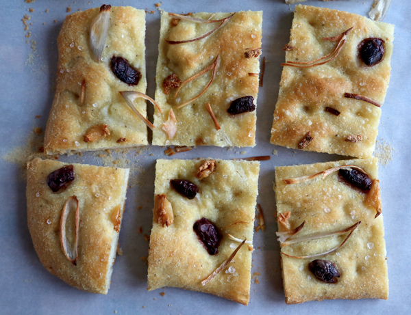 From the kitchen: Roasted Garlic, Kalamata Olive and Shallot Focaccia ...