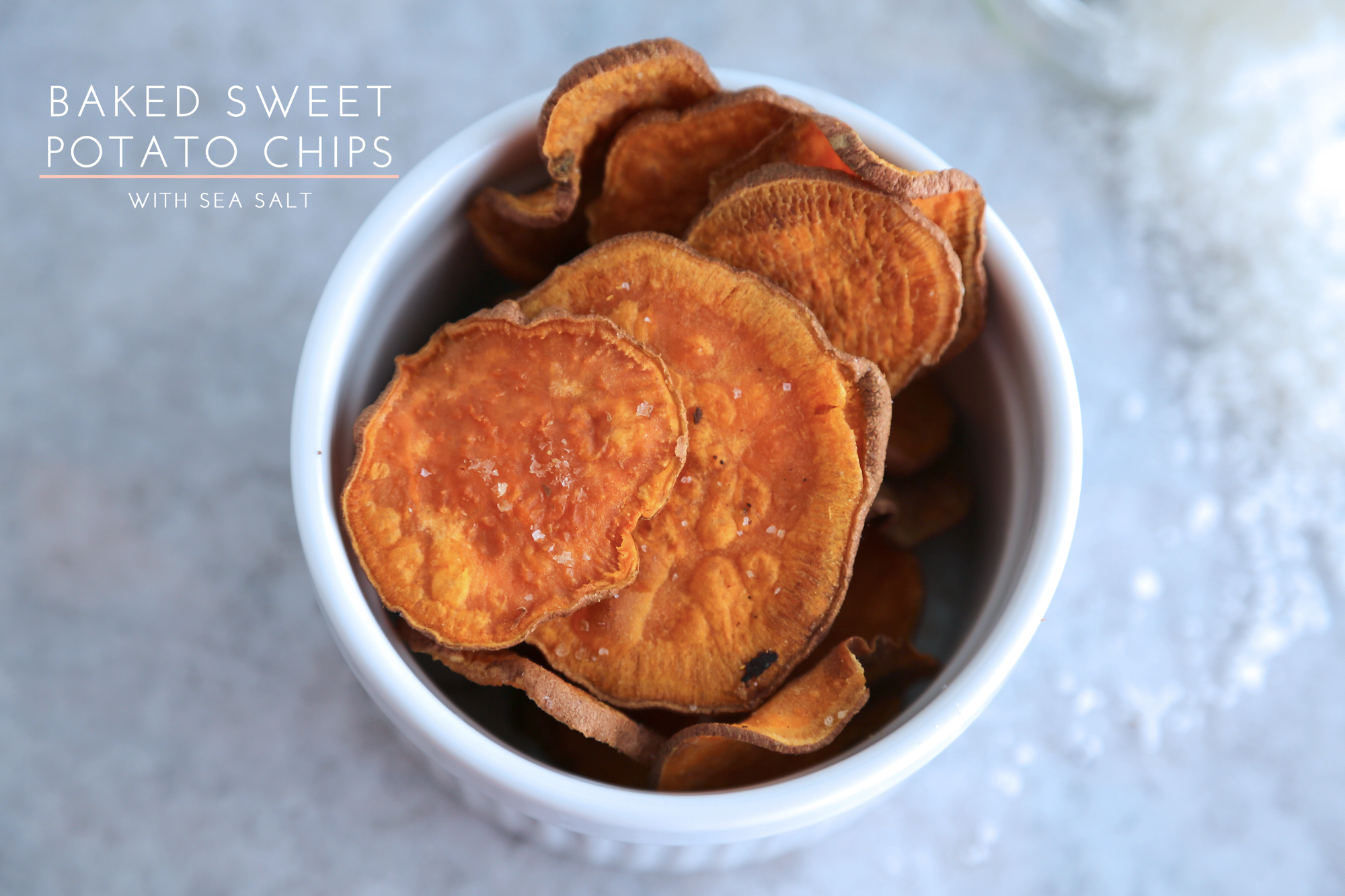 From the kitchen: Baked Sweet Potato Chips {with sea salt} | {love ...