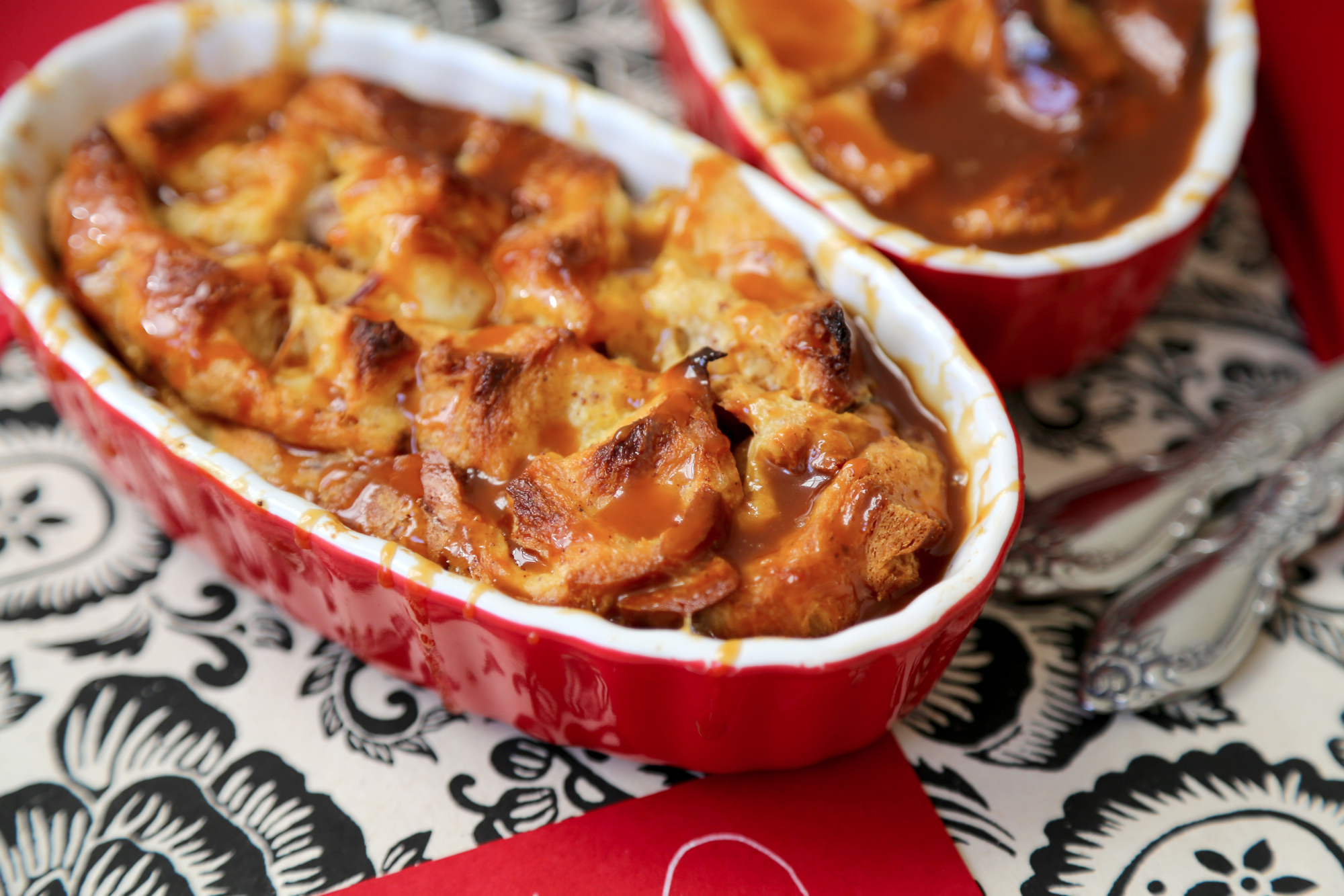 From the kitchen: Salted Caramel Bread Pudding {for two ...