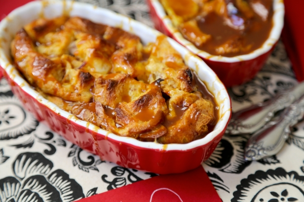 Salted Caramel Bread Pudding