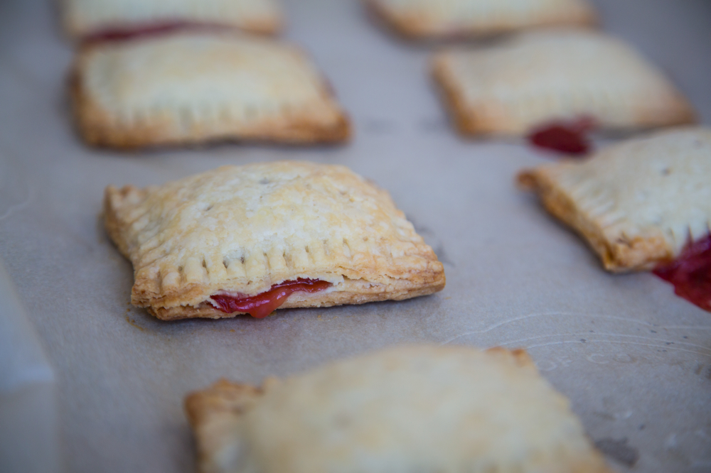 Great Strawberry_Rhubarb_Pop_Tarts_004. Homemade Strawberry Rhubarb Pop Tarts.  (Adapted From Smitten Kitchen)