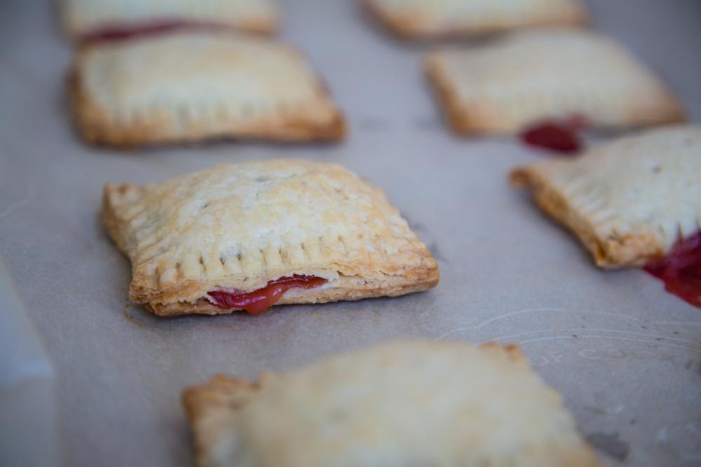 Great Strawberry_Rhubarb_Pop_Tarts_004. Homemade Strawberry Rhubarb Pop  Tarts. (Adapted From Smitten Kitchen)