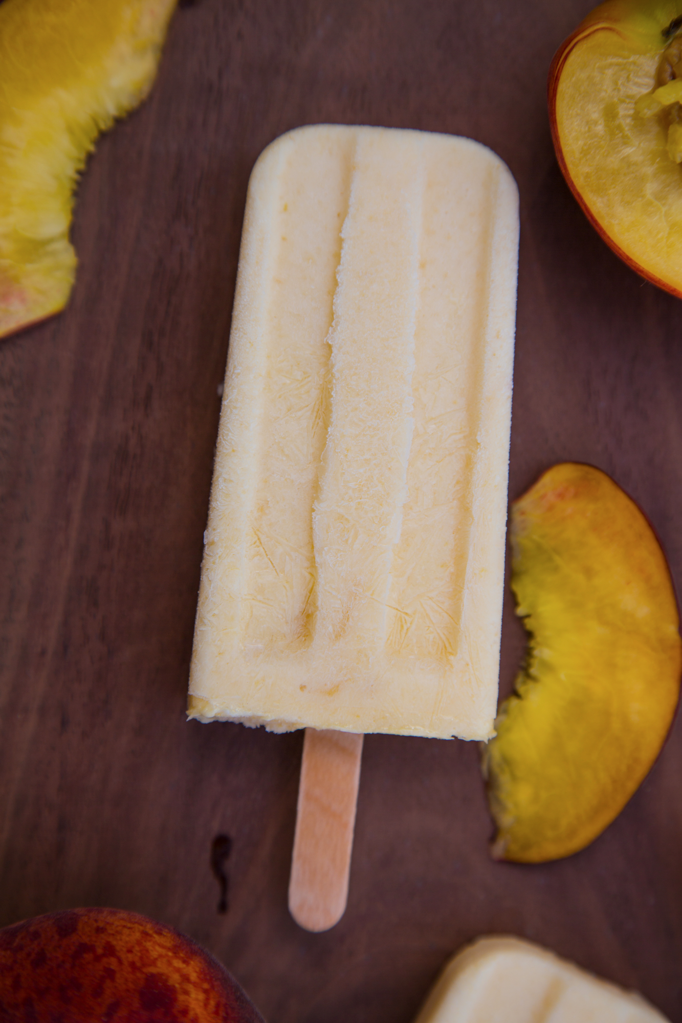 peaches and peaches and cream popsicles peaches and cream yogurt pops ...