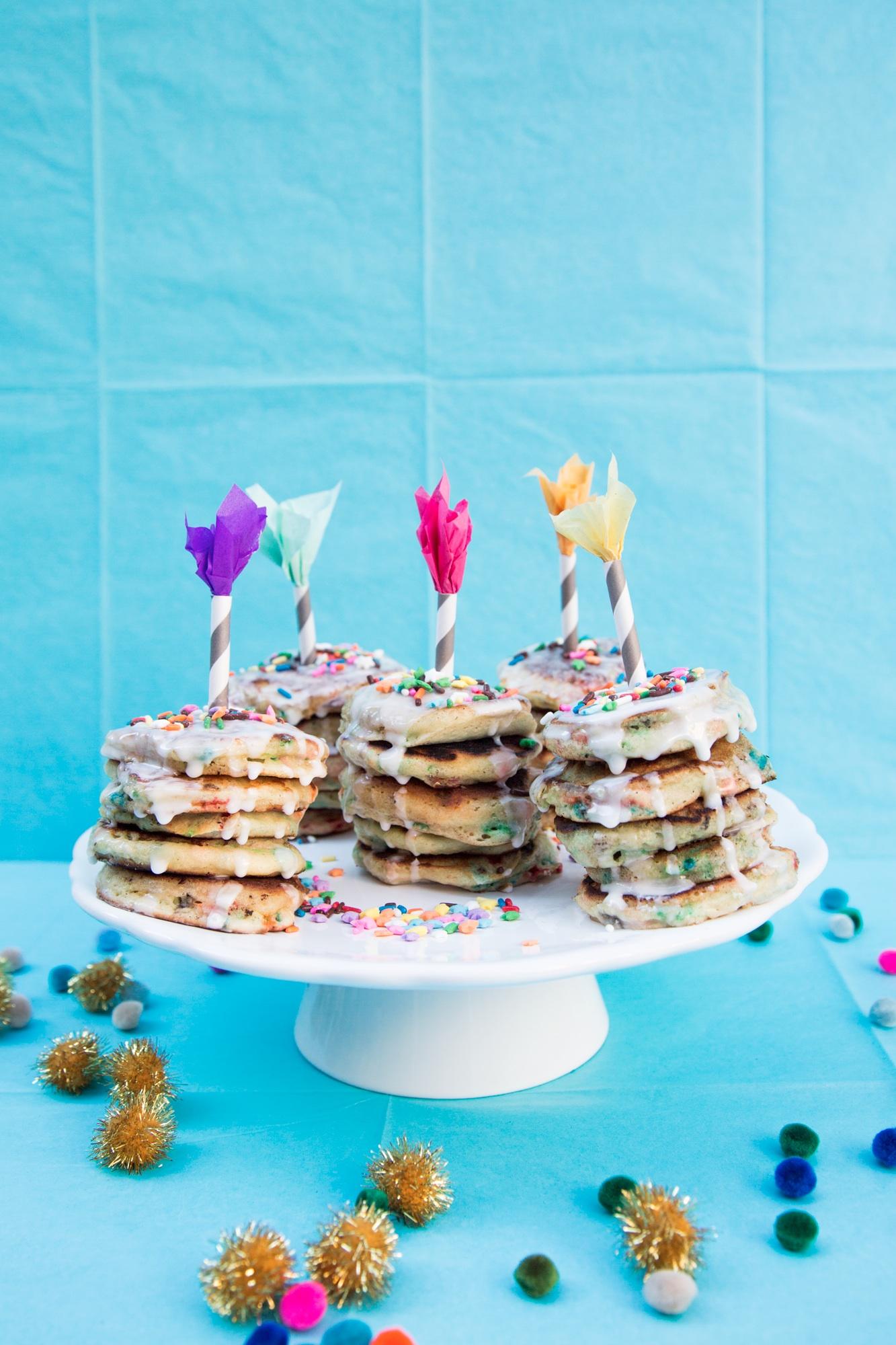 Mini Birthday Pancakes Love Cupcakes Blog